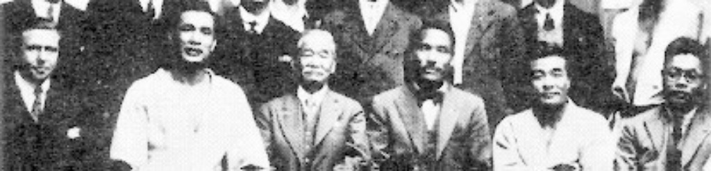 Kawaishi on far right pictured with Kano
